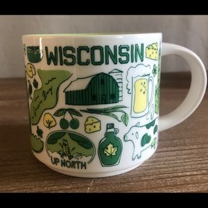 Starbucks Wisconsin been there series mug